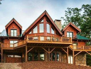Luxury Log Home - Pool Table, Views, Stunning Furnishings, Near Boone