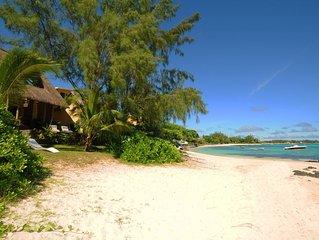 Villa Ernestville 2 - pied dans l'eau et plage de sable blanc, wifi gratuit