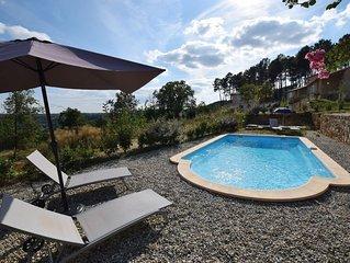 Impressive Villa with Hill View in Joyeuse