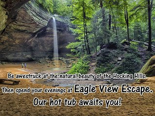 Escape and enjoy the Hocking Hills