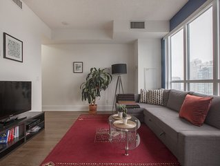 Modern 1 Bedroom suite in the heart of downtown Toronto