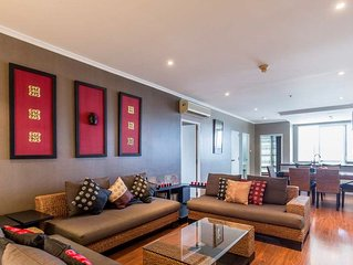 Beautiful condo on the beachfront with fully furnished to rent - Baan Sanploen