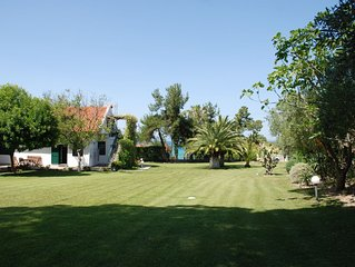 Luxury Villa next to wonderful, quiet beach. Private garden,close to attractions