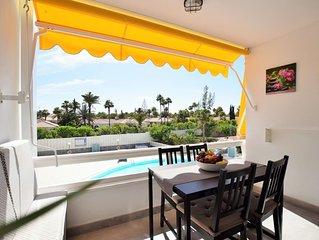 New Apartment 100mt From Dunes Maspalomas Playa Ingles WiFi