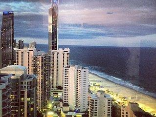 Q1 Amazing Ocean Views Chic Beachfront Apartment