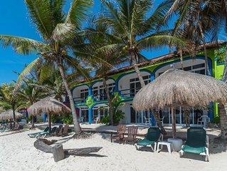 Del Sol Beachfront Condos - 2 Bedroom/1 Bath - Absolute Beachfront