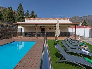 Casa de vacaciones con piscina compartida