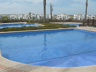 Luxury Poolside Apartment overlooking 18 hole Golf Course