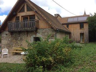 Maison  au pied du massif de l'Obiou(Trieves) avec jardin, 7 personnes
