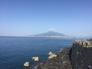 Sea View Apartment on the bay of Naples last minutes discount  25 - 30 june