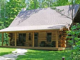Egg Harbor Log Cabin, Door County