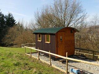 Shepherds Hut 'Jessica' in fantastic location