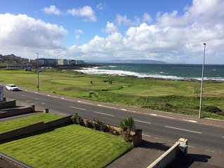 Amazing Sea views.  Central location. Overlooking Portstewart Old Course.