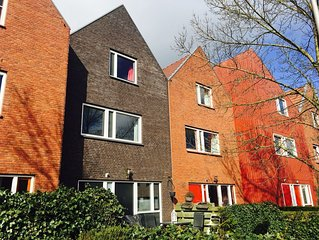 Quiet Family Home in in the surrounding of The Hague, Delft, Rotterdam & A'dam.