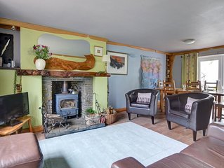 Semi-detached, stone-built holiday home nearby Swansea and the Brecon Beacons