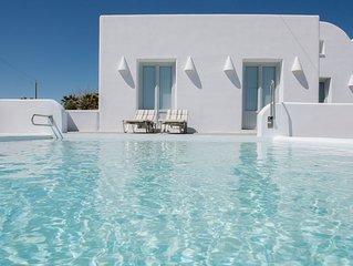 Sand Villa - sea front luxury villa by  Monolithos beach.