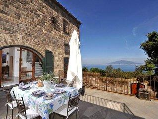 Villa Lubrense in Sant'Agata in Massa Lubrense - Costiera Amalfitana