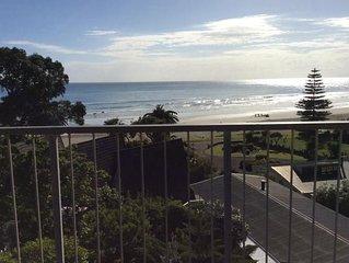 Absolutely stunning top floor beach apartment