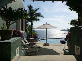 Exclusive Villa with Private Beach and Beautiful  Views to the Pacific Ocean