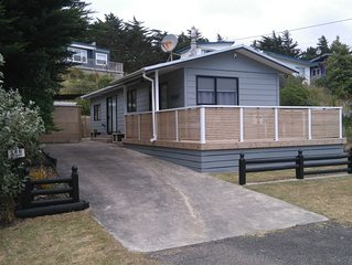 Renovated, warm, 2 bedroom bach in quiet location