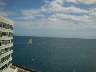Fantastico apartamento en primera linea de mar, con excelentes vistas al mar,