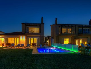 Luxurious villa with jacuzzi and private swimming pool