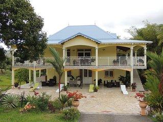 Magnifique bas de villa situé à la campagne