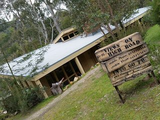 Views on High Road - ideal family getaway