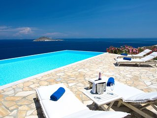 Sophia Villa Patmos | Sea View Villa in Patmos with pool