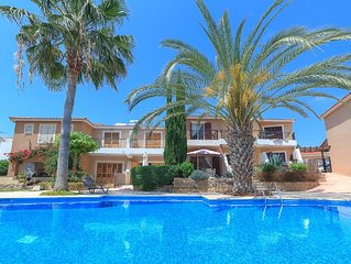 Paphos coastal villa with swimming pool