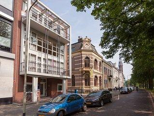 Ruim appartement aan de rand van het centrum in de stad Groningen