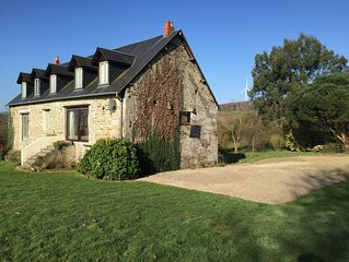 Charming Stone Country House in Normandy