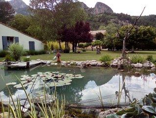 maison avec jardin pour amoureux de la nature