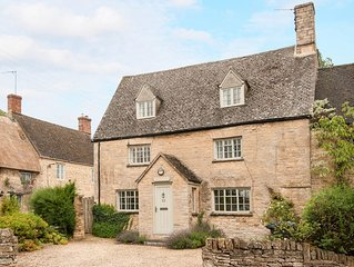 Period & contempory family friendly cotswold cottage