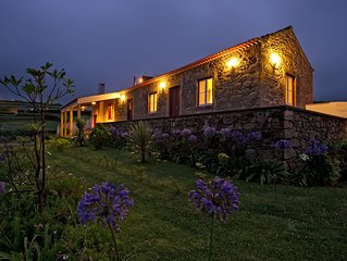 BEAUTIFUL RURAL HOUSE WITH LARGE GARDEN AND ASTONISHING VIEWS.