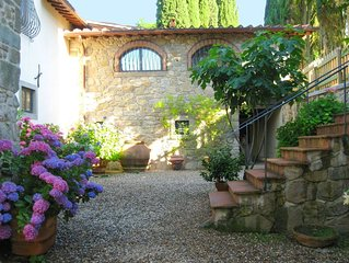 Renaissance villa in the heart of the Mugello, 35 km from Florence.