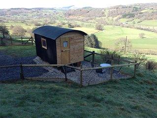 Shepherd Hut 'Megan' in beautiful quiet location