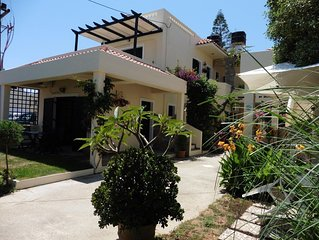 Magnificent holiday apartment 1min walk from beautiful sandy beach in Kokkini Ha