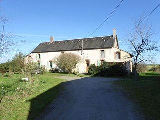 Cottage in an old remote farmhouse near Châteauroux