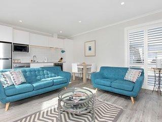 Stunning new beachfront apartment