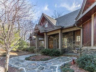 View House  - Stunning Views of Mountains and Yadkin River, huge deck, wood burn