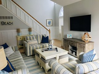 Townsend Inlet South End Beach Block Home. Prime Weeks Still Available!