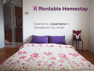 'A'ffordable Homestay * City Center