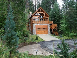 Luxury home inside Yosemite gates and only minutes from valley floor