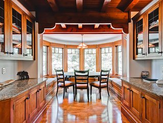 CUSTOM HOME built in the Arts and Craft tradition