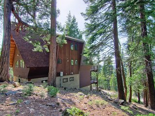 Welcome to Stoneoaks, an A-frame mountain home hand-built in the late 70s