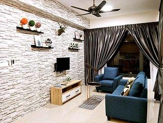 5 Star Elegant Apartment at Georgetown Penang