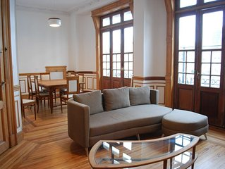 New! Bright, spacious and quiet apartment for 4 persons in the heart of the city