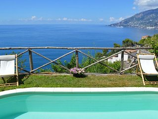 VILLA MAJOR - HOLIDAY VILLA - MAIORI - AMALFI COAST