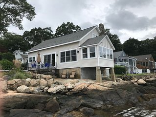 Lovely waterfront cottage in Point O' Woods Beach on the Connecticut Shoreline
